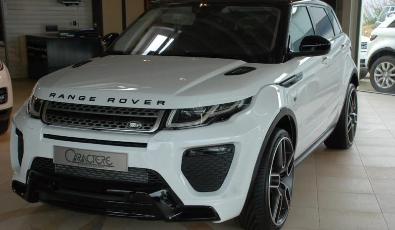 Land Rover Range Rover evoque HSE Dynamic SI4 240 full