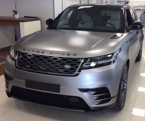 Range Rover VELAR FIRST EDITION D300 FLUX SILVER full