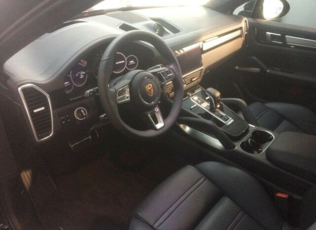 Porsche Cayenne Turbo coupé full